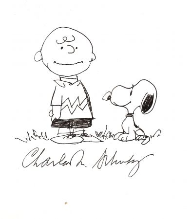 No Technical Schulz - Charlie Brown and Snoopy