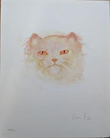 Lithograph Fini - Chat