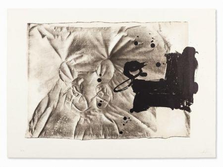 Lithograph Tàpies - Chaussure sur chaise