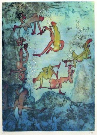 Etching Matta - Cherche Eve (1971)