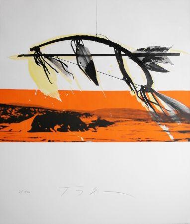 Lithograph Soulie - CHEROKEE lithographie de TONY SOULIE