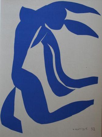Lithograph Matisse - Chevelure