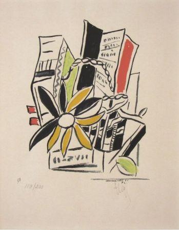 Screenprint Leger - Chevreuse Août - 1951