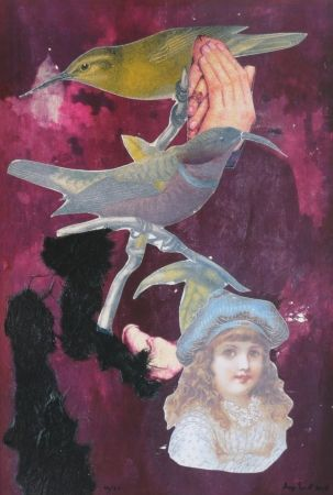 Lithograph Ernst - Childhood