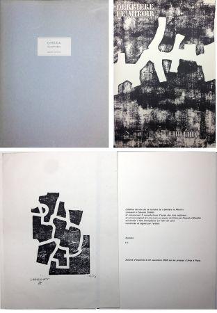 Illustrated Book Chillida - CHILLIDA SCULPTURES. Derrière Le Miroir n° 174. Nov. 1968. TIRAGE DE LUXE SIGNÉ.