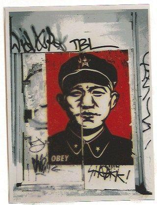 Screenprint Fairey - Chinese San Francisco