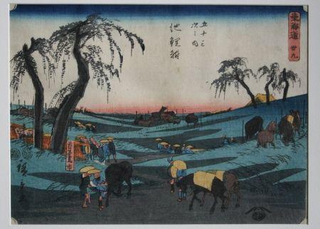 Woodcut Hiroshige - Chiriu