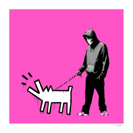 Screenprint Banksy - Choose yuor weapon