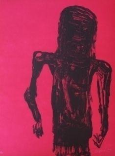 Lithograph Reyes - Christ