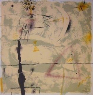 Lithograph Canosa - Christmas Galeria Joan Prats