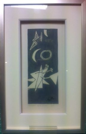 Lithograph Braque - Ciel gris