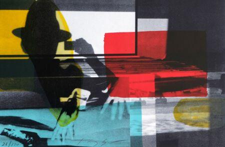 Lithograph Soulie - Cinema