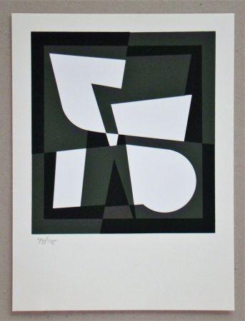Screenprint Vasarely - Cingsha