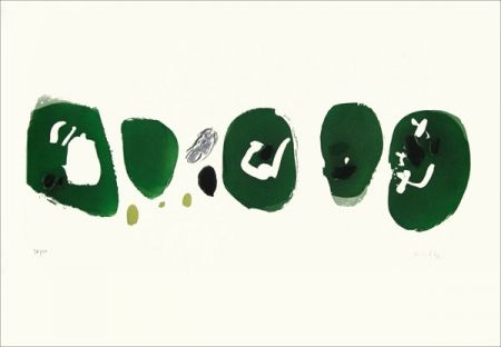 Engraving Capdeville - Cinq marques vertes