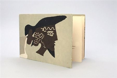 Illustrated Book Braque - Cinq poésie en hommage à Braque