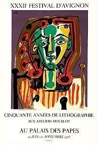 Lithograph Picasso (After) - Cinquante années de lithographies