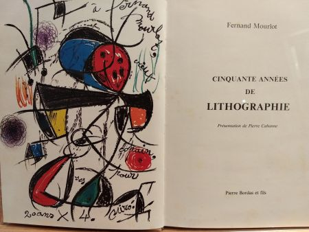 Illustrated Book Miró (After) - Cinquante annees De lithographie