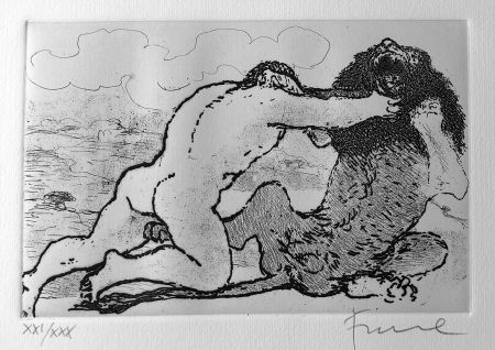 Illustrated Book Fiume - Cinque acqueforti per i poeti greci tradotti da Salvatore Quasimodo.