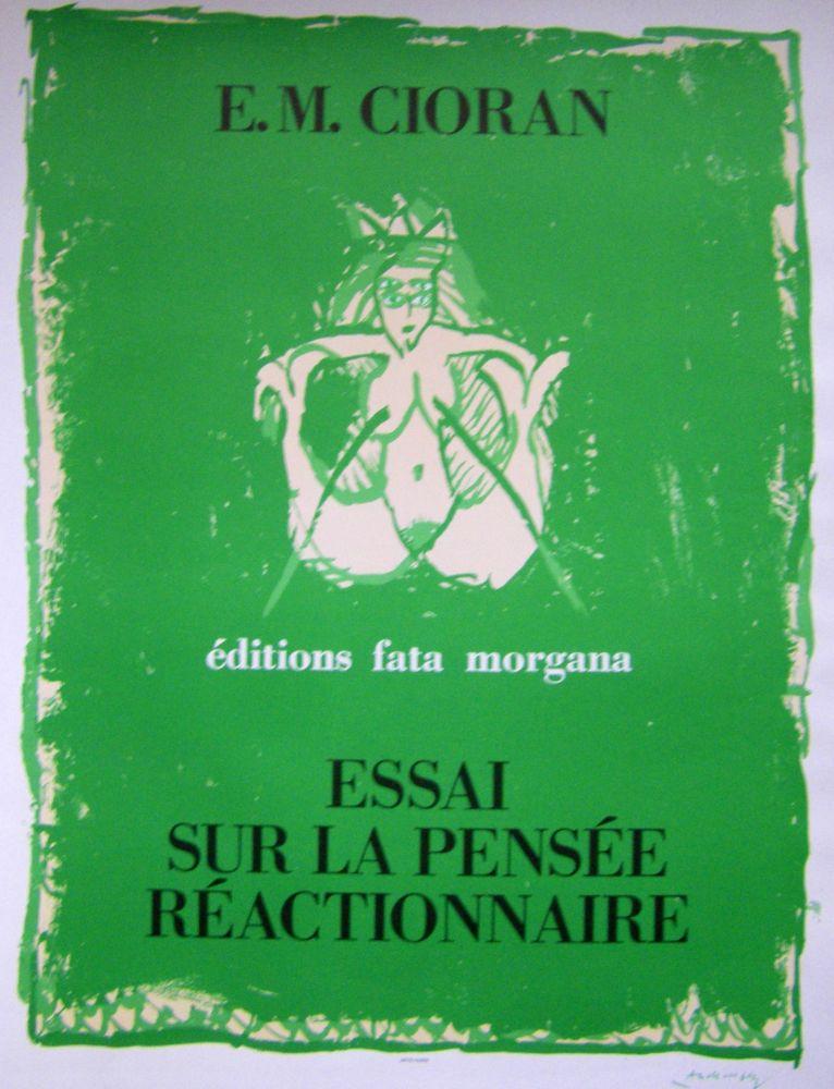 Poster Alechinsky - Cioran