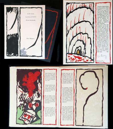 Illustrated Book Alechinsky - CIORAN, E - M.: VACILLATIONS (1979)