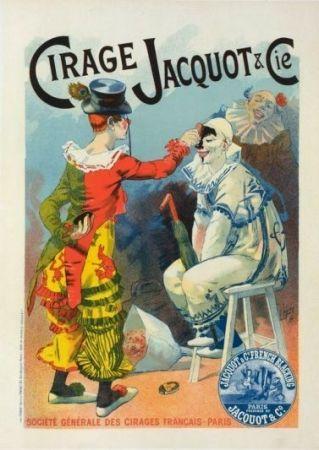Lithograph Lefevre - Cirage Jacquot & Co.
