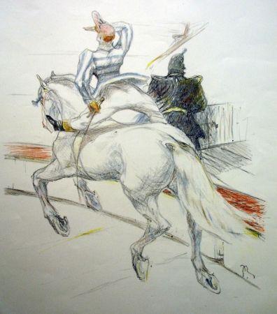 Lithograph Roig - Cirque / Circus