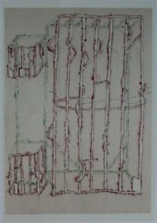 Lithograph Kauffman - Ck2