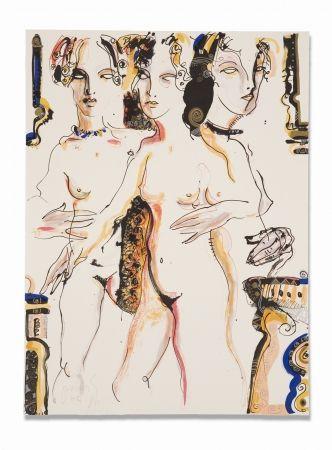 Lithograph Barbera - Clandestina