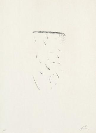 Lithograph Tàpies - Clau-11