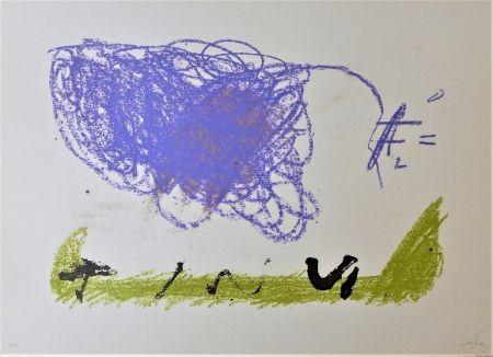 Lithograph Tàpies - Clau 16