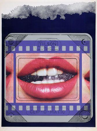 Screenprint Tilson - Clip O Matic Lips