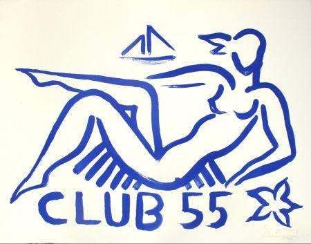 Lithograph Szczesny - Club 55