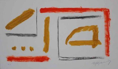 Lithograph Ràfols Casamada - Coberta catàleg