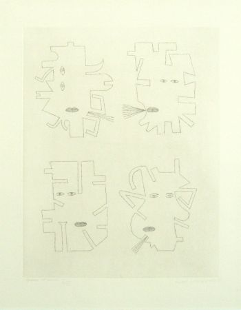 Etching Brauner - Codex d'un visage
