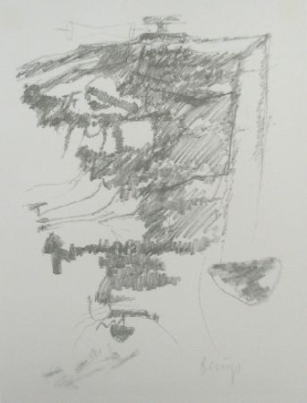 Lithograph Beuys - Codices Madrid 2