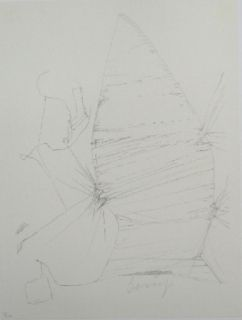 Lithograph Beuys - Codices Madrid 3