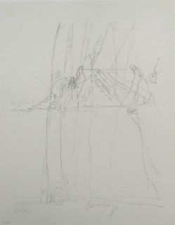Lithograph Beuys - Codices Madrid 4