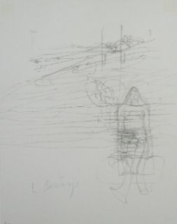 Lithograph Beuys - Codices Madrid 8
