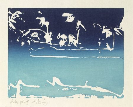 Woodcut Katz - Coleman Pond III