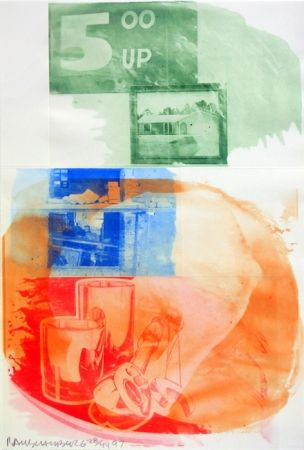 Intaglio Rauschenberg - Collateral, from Ground Rules