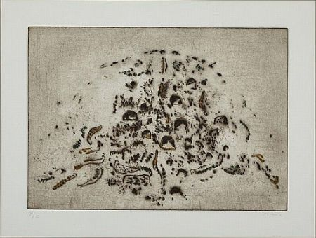 Etching And Aquatint Music - Colline Dalmate