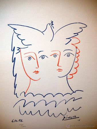 Lithograph Picasso (After) - COLOME 1956