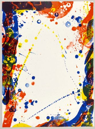 Lithograph Francis - Colors in Space II