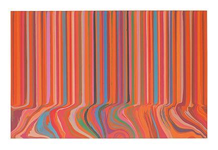 Engraving Davenport - Colourcade Buzz: Red and Orange Mirrored