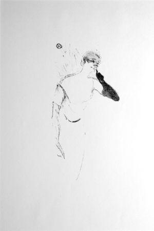 Lithograph Toulouse-Lautrec - Columbine à Pierrot