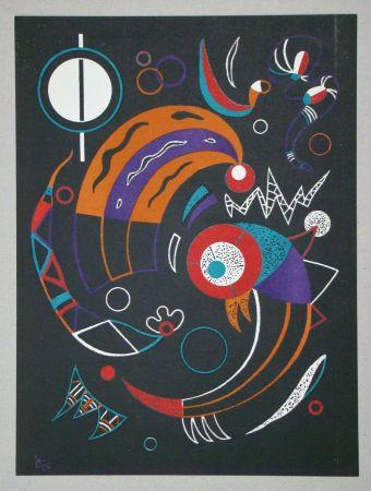Lithograph Kandinsky - Comètes