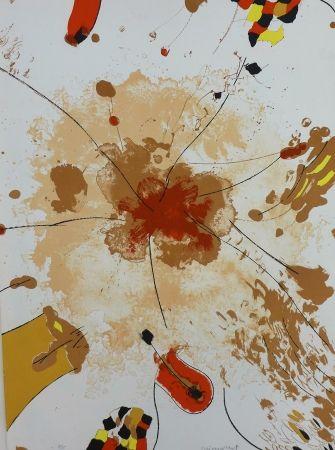 Lithograph Guinovart - Com la roda