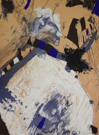 Lithograph Guinovart - Com muntanya