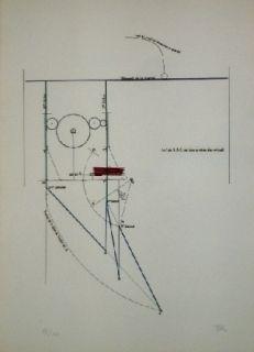 Etching And Aquatint Ray - COMBAT DE BOXE