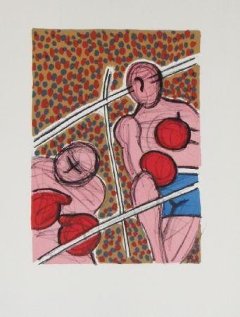 Lithograph Corneille - Combat I